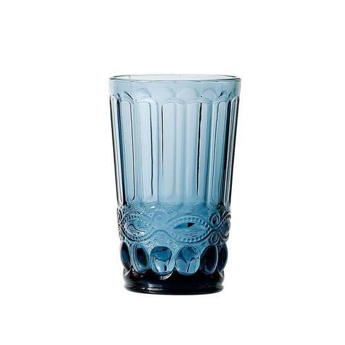 Copo Água Elegance Azul 330ml