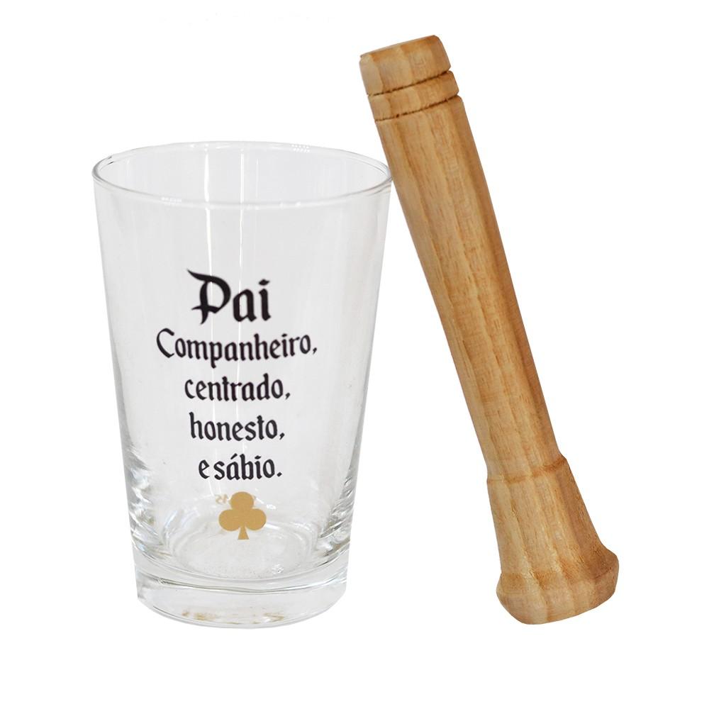 Copo Drink c/ Soquete Pai 310ml