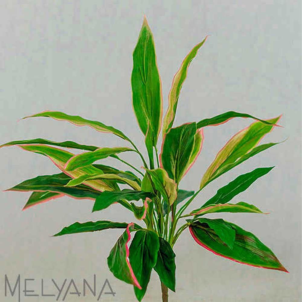 Cordyline Folhagem Artificial Verde Mix