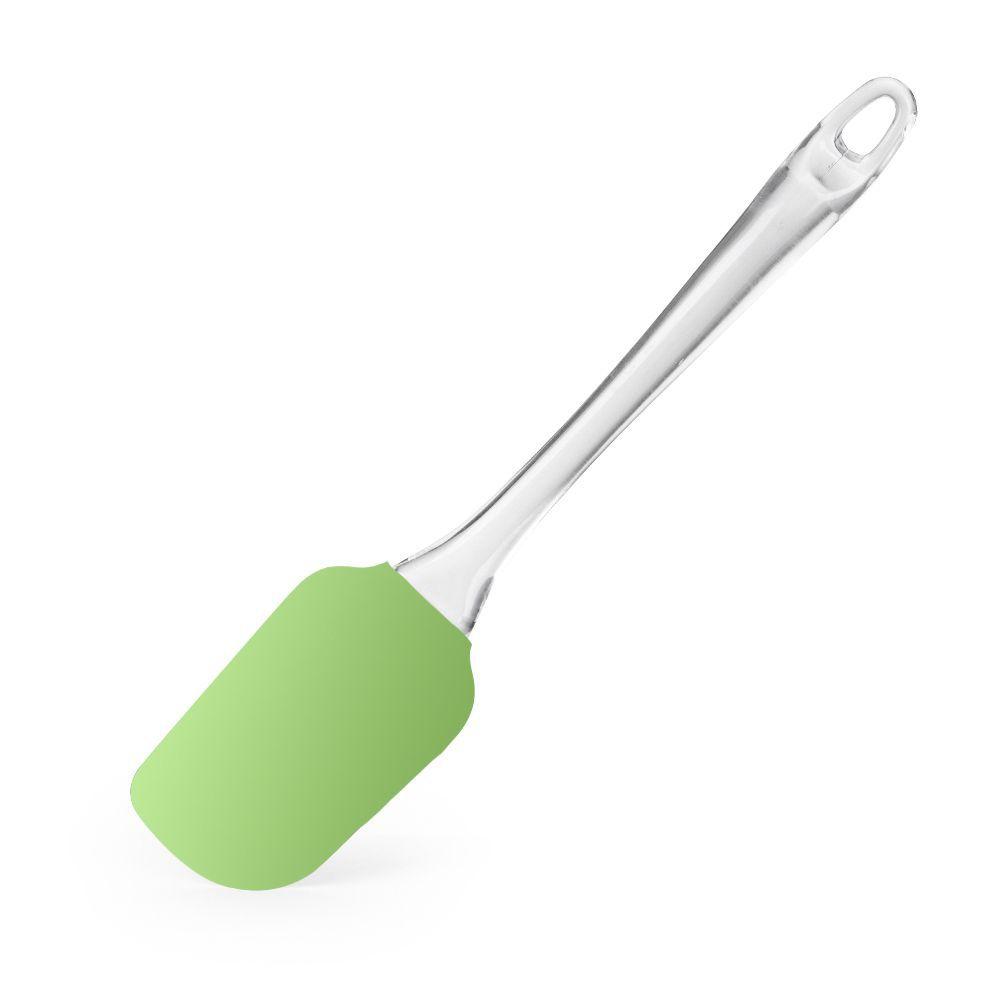 Espátula de Silicone Verde Limão