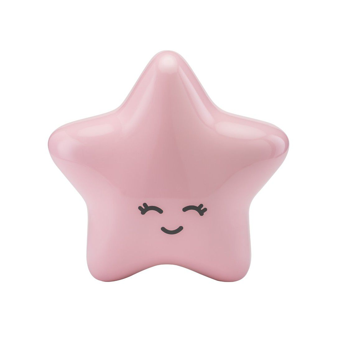 Estrela Decorativa Laqueada Rosa