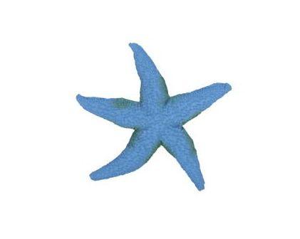 Estrela do Mar Decorativa em Resina Turquesa