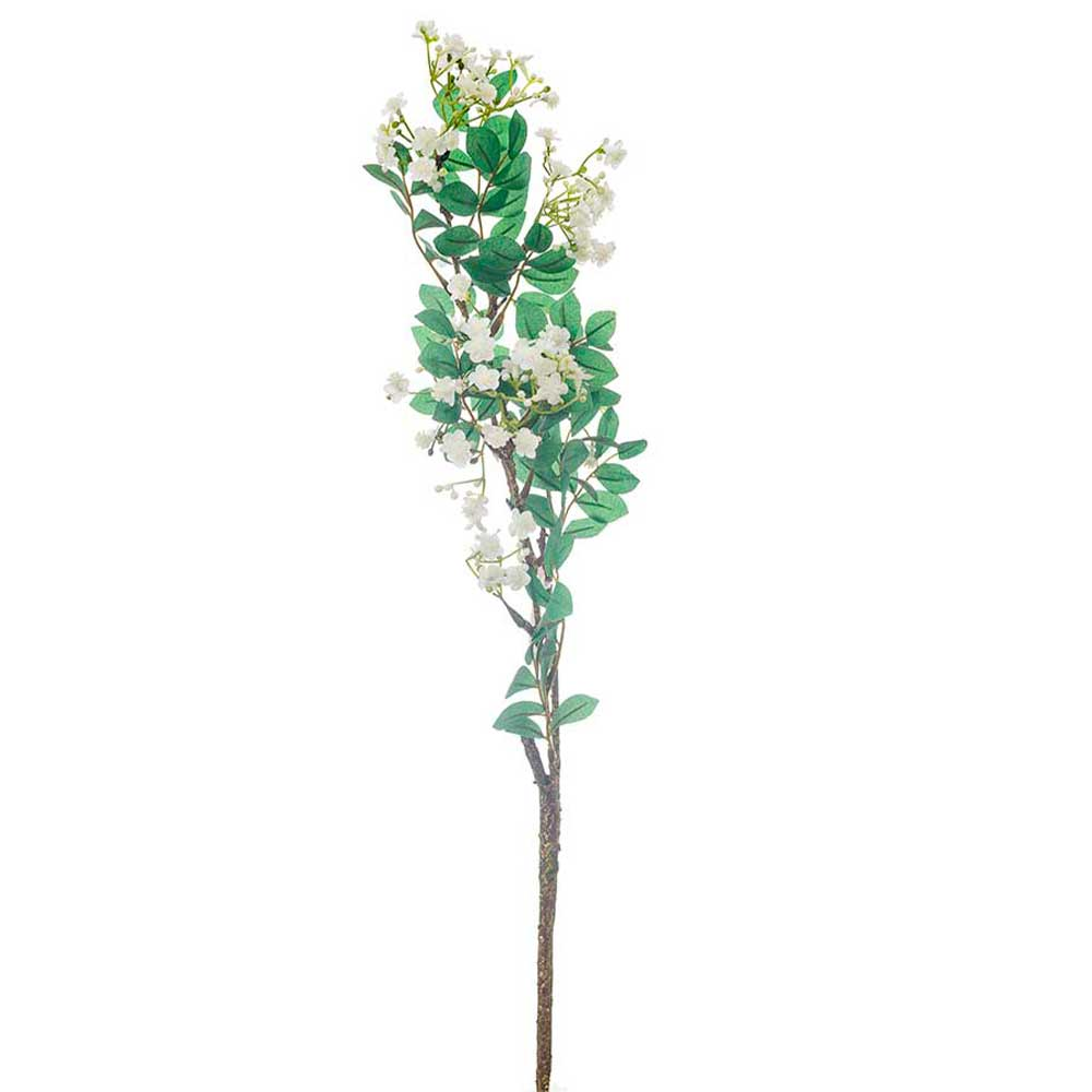 Flor Artificial X3 Galhos Complementos 70cm