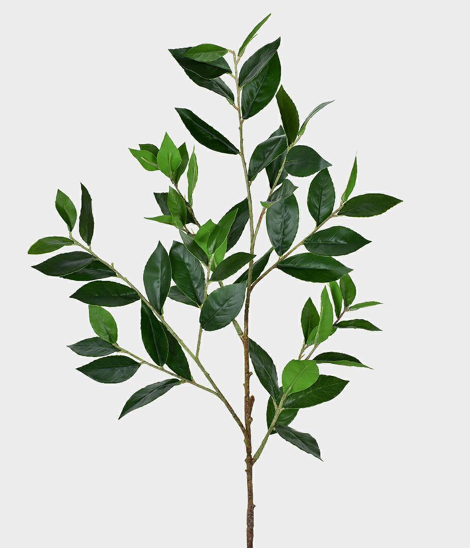 Galho Artificial com Folhas Oliva X6 Verde 100cm