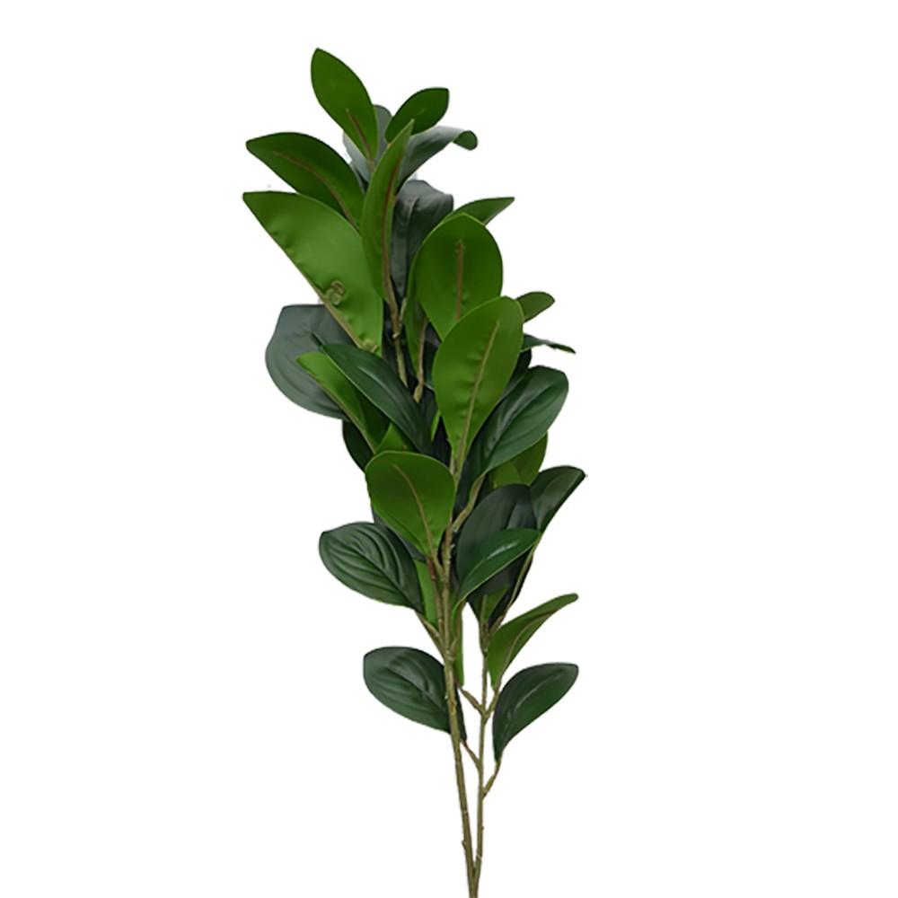 Galho Artificial com Folhas Verdes 82cm