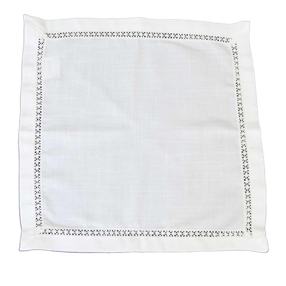 Guardanapo Branco 45x45cm
