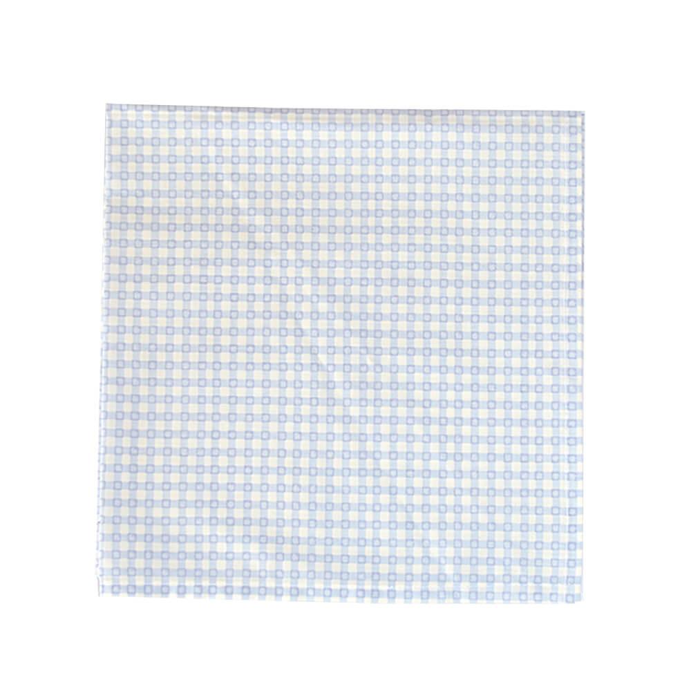 Guardanapo de Tecido Quadriculado Azul