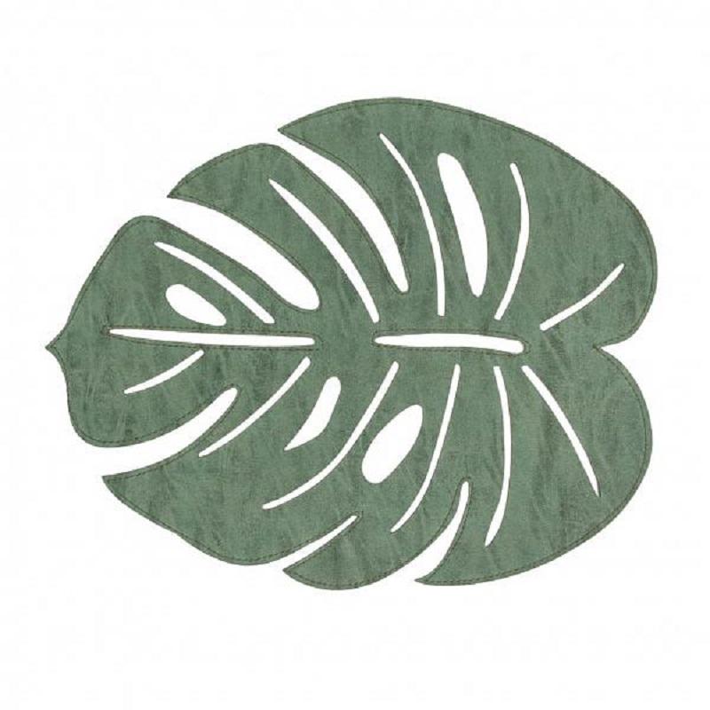 Jogo Americano Avulso Leaf Verde 36cm x 45cm