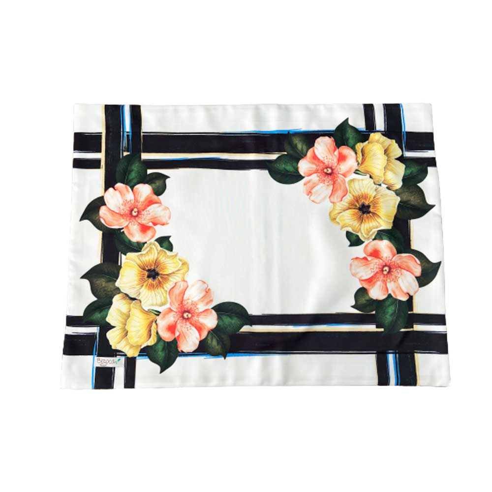 Jogo Americano Flores 50x38cm