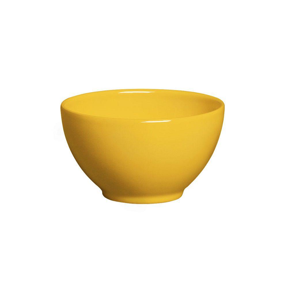 Jogo de 6 Bowls Liso Mostarda 587ml Porto Brasil