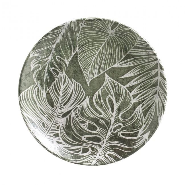 Jogo de 6 Pratos Sobremesa 20,5cm Coup Herbarium Porto Brasil