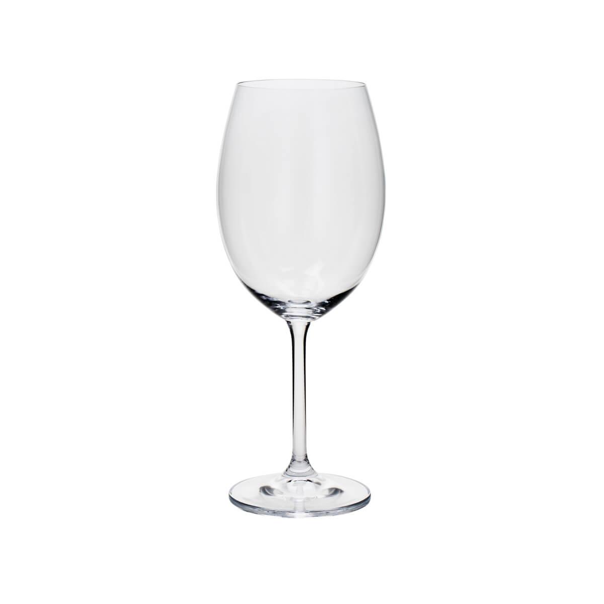Jogo de 6 Taças para Água em Cristal Ecológico Bohemia Gastro/Colibri 580ml