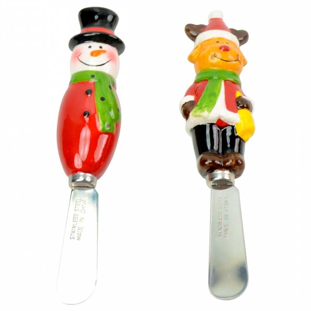 Jogo de Espátulas Decorativas de Natal 2 Peças