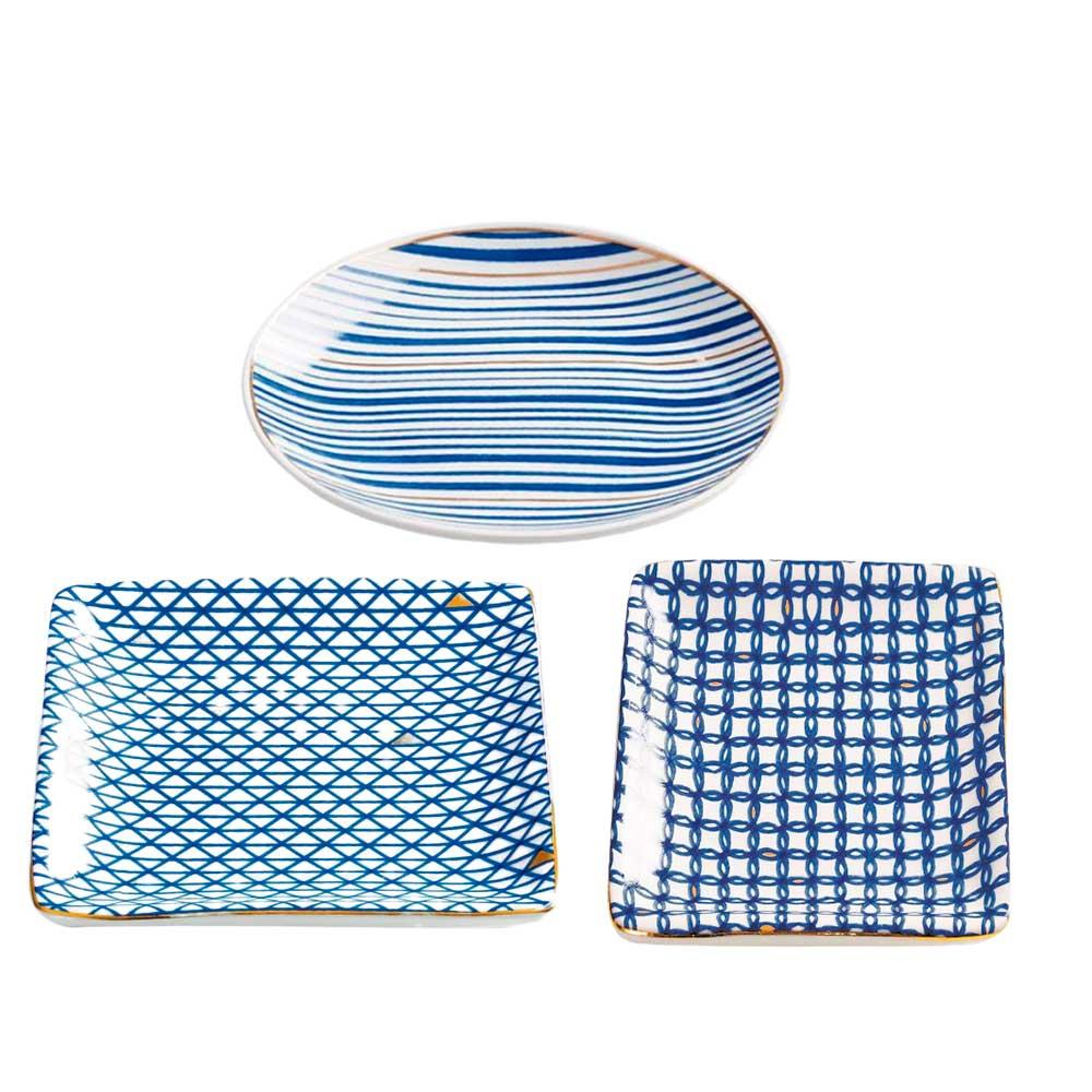 Kit Mini Prato Decorativo Quadrado