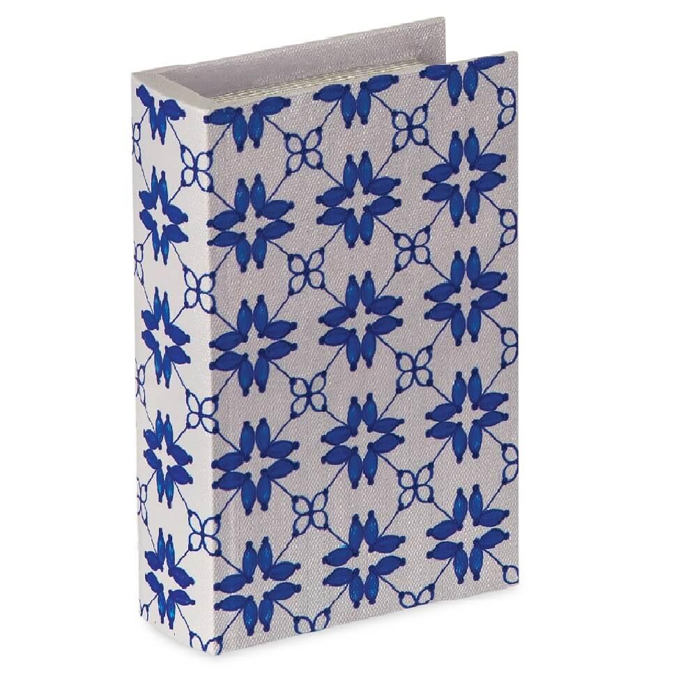 Livro Caixa Decorativo Estampado - Pequeno