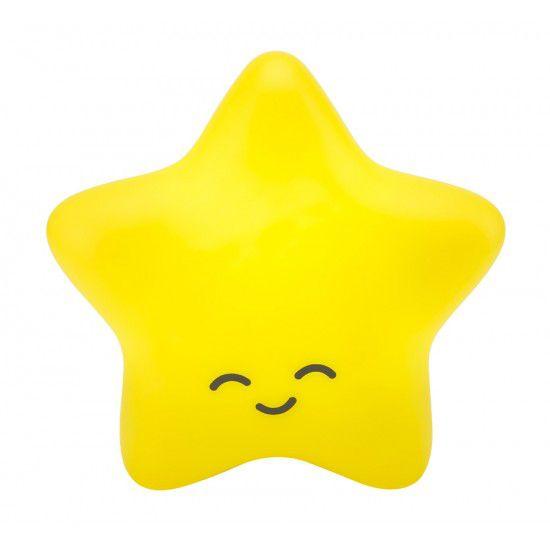 Luminária Estrela Amarela com Fio