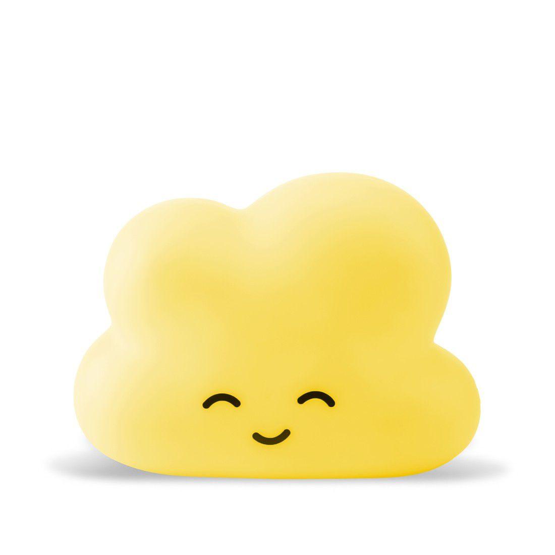 Luminária Nuvem Amarela