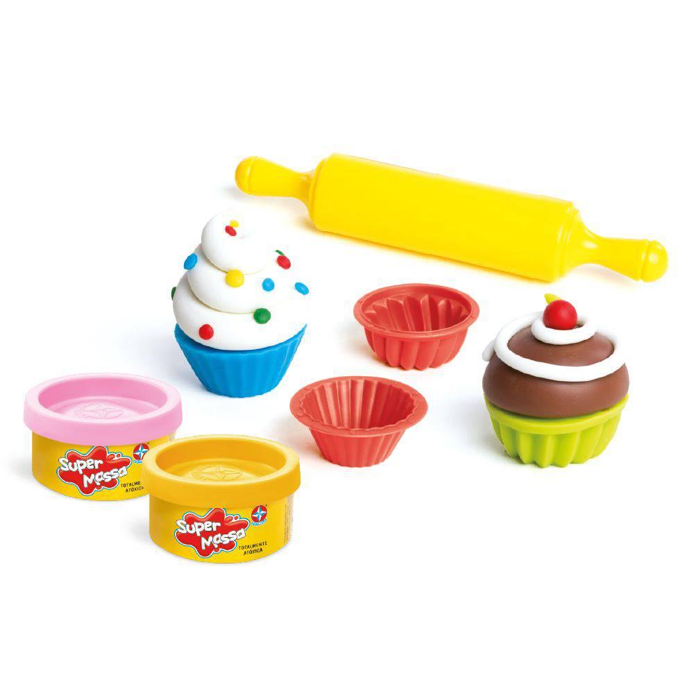 Massinha Super Massa Mini Cupcakes