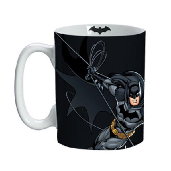 Mini Caneca Porcelana Batman Preto 135ml