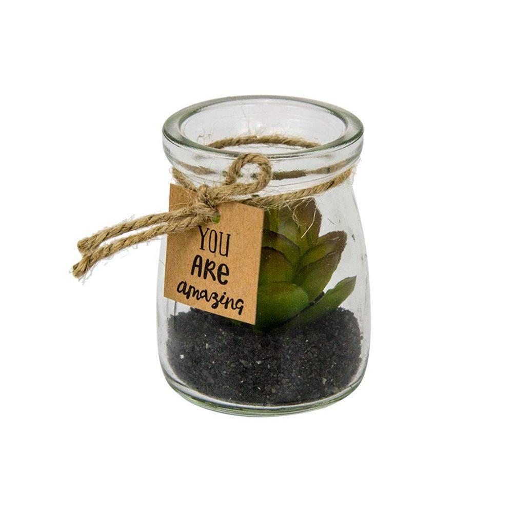 Mini Vaso em Vidro Betty Verde