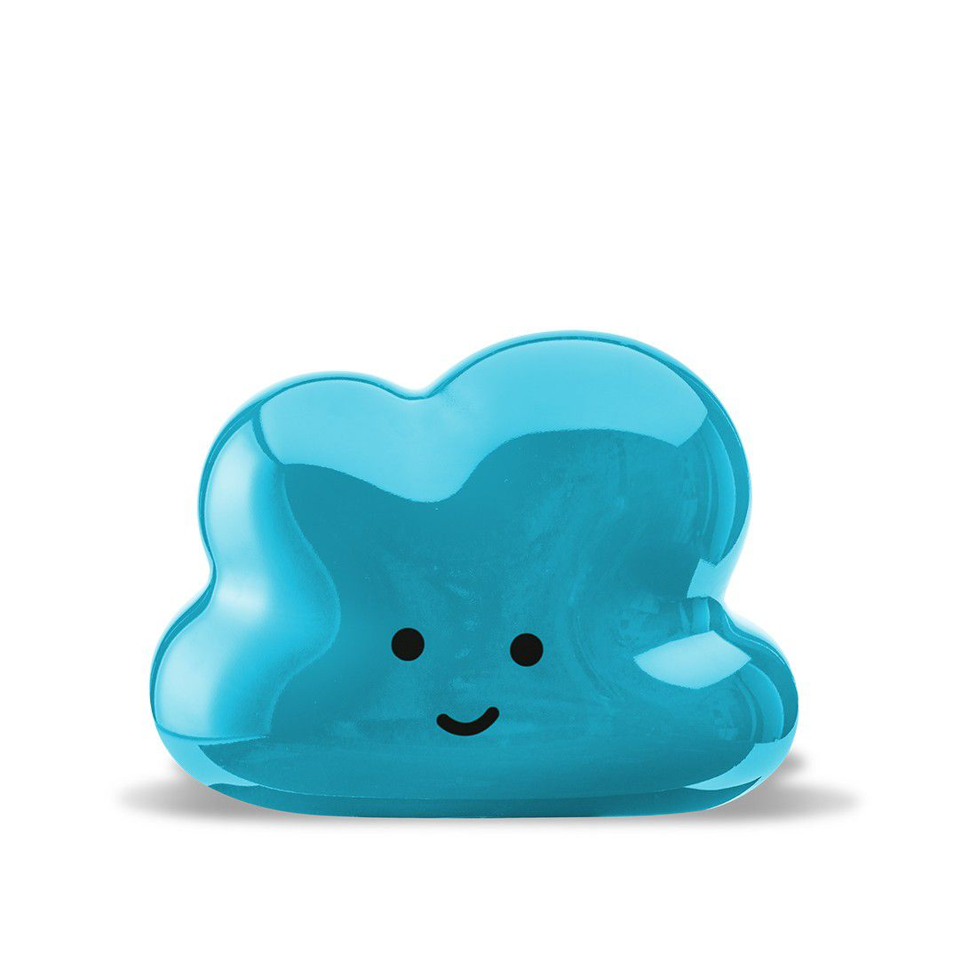 Nuvem Decorativa Laqueada Azul