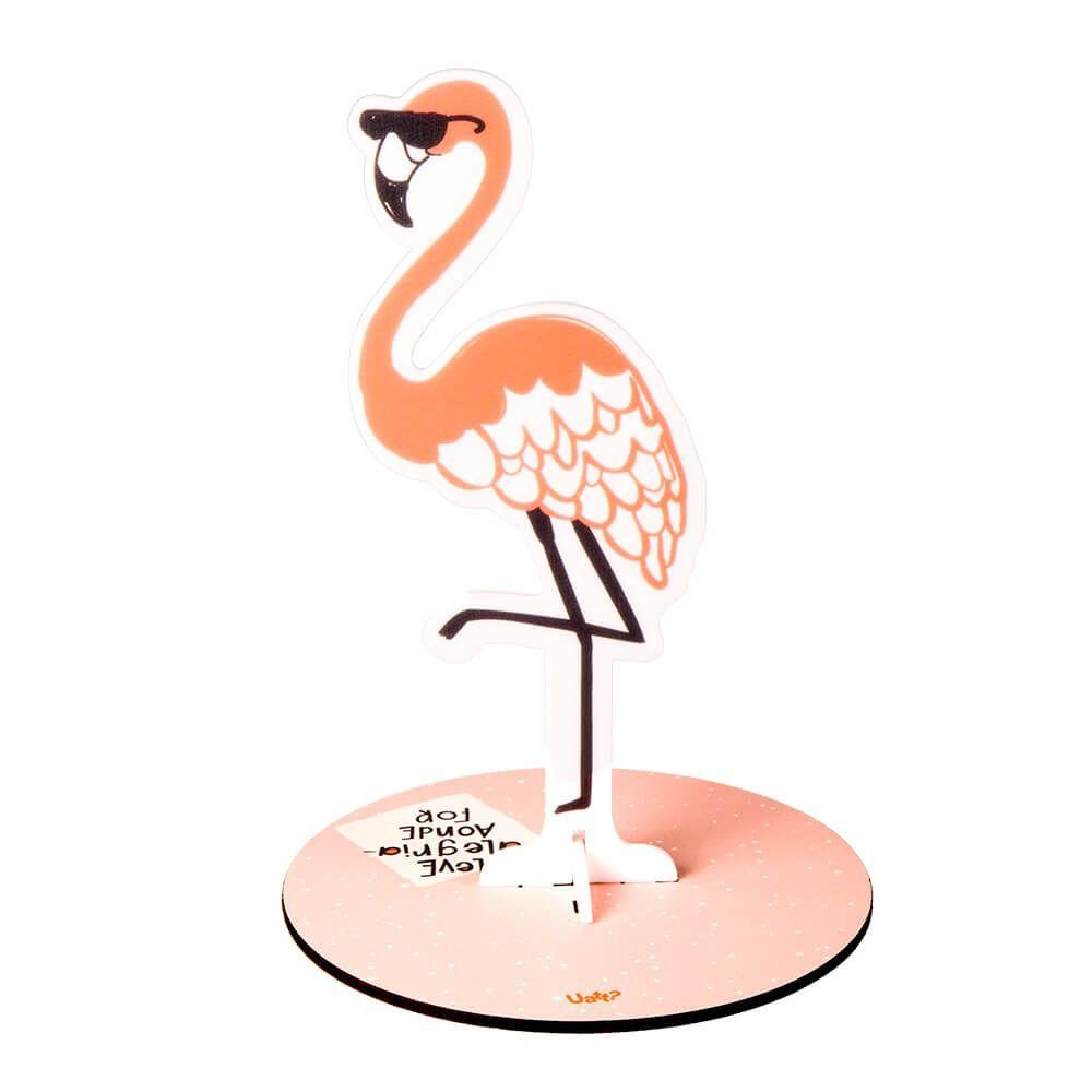 Porta Biju - Flamingo