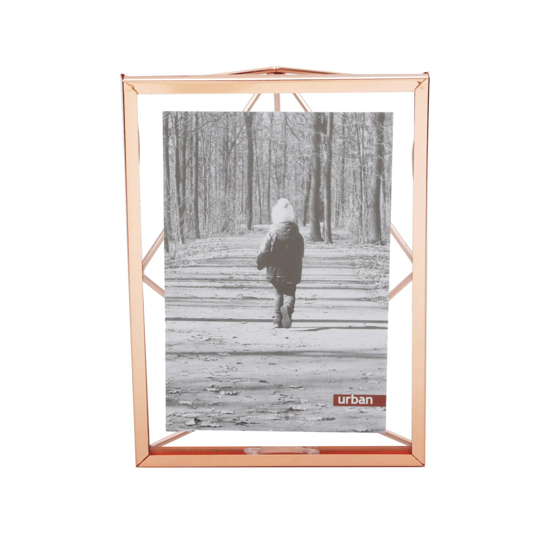 Porta Retrato Cobre 10x15cm Fancy