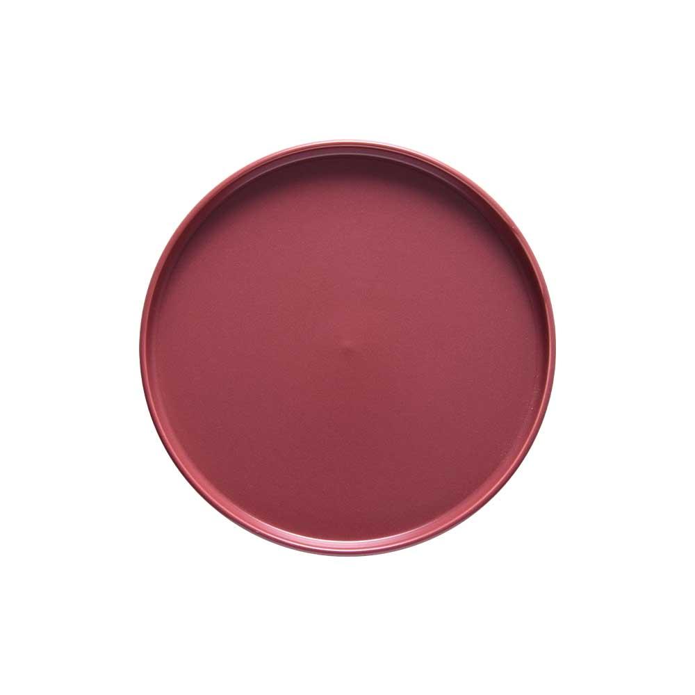 Prato de Lanche Cerâmica Edge Cayenne 21cm