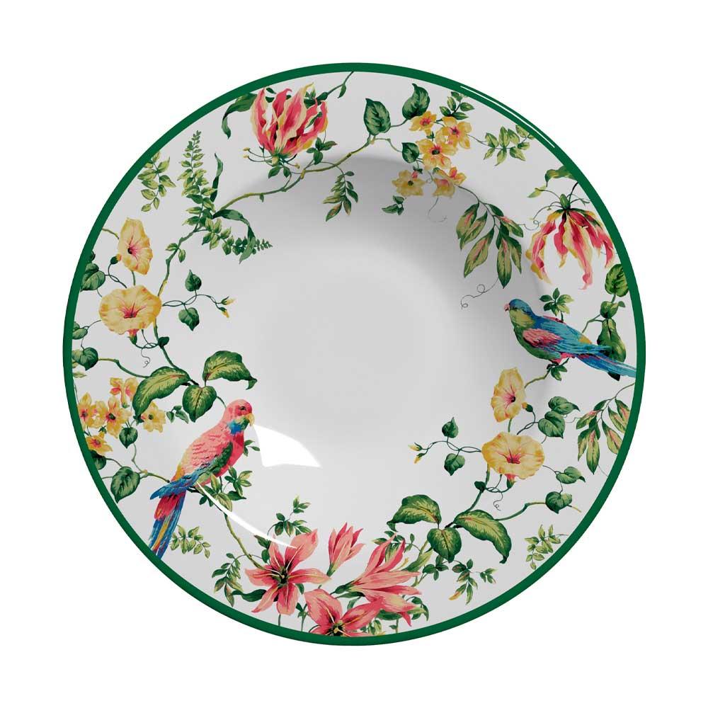 Prato Fundo de Cerâmica Harmony 24,5cm Alleanza