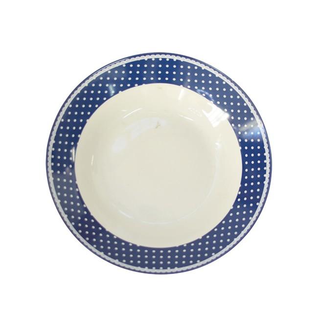 Prato Fundo de Porcelana Viena Avulso