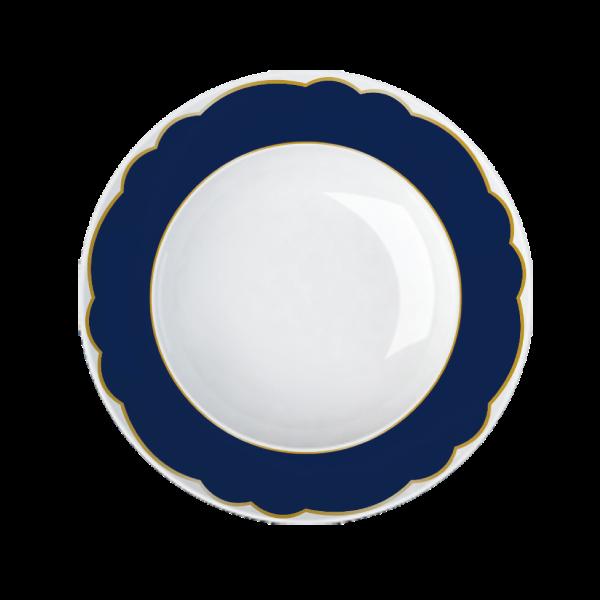 Prato Fundo Versa Royal Blue 24cm Germer Porcelanas