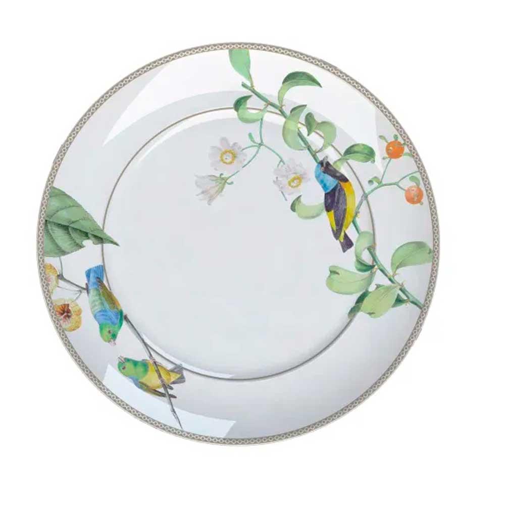 Prato Raso 28cm Bela Fauna Germer Porcelanas