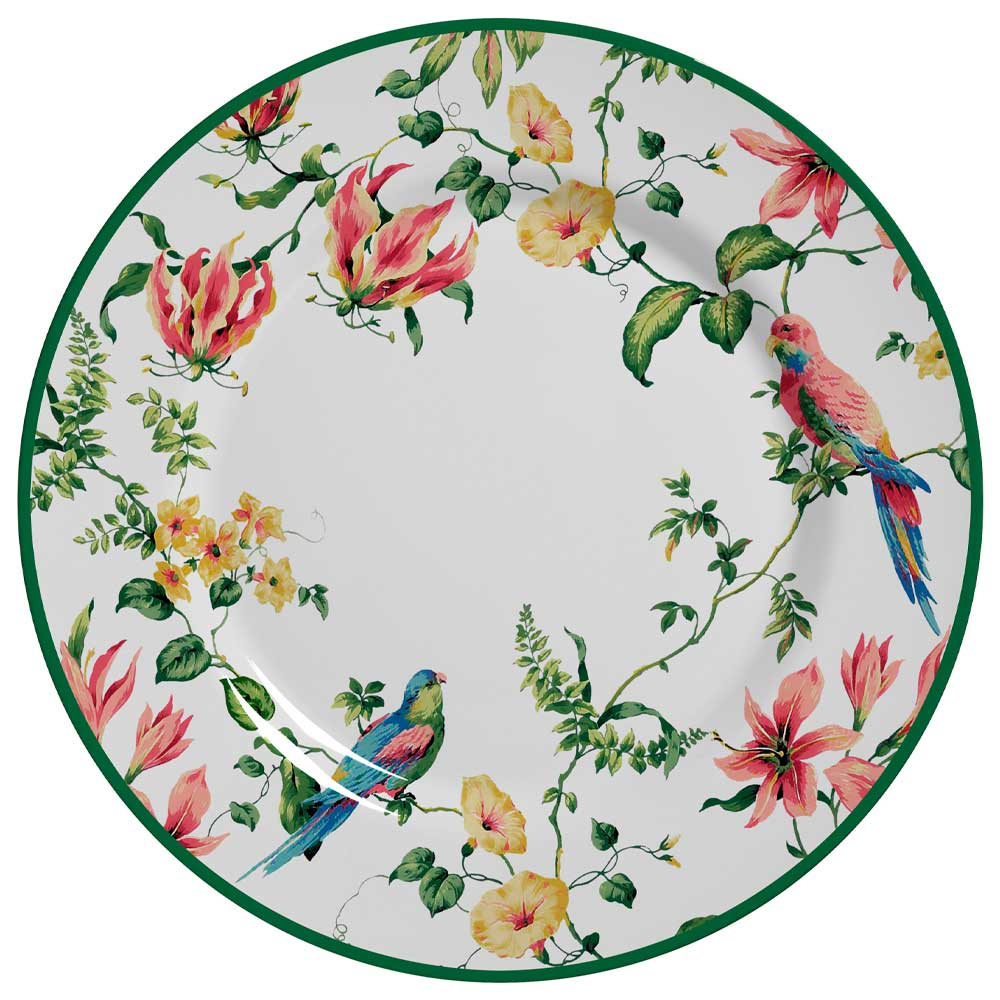 Prato Raso de Cerâmica Harmony 28,5cm Alleanza