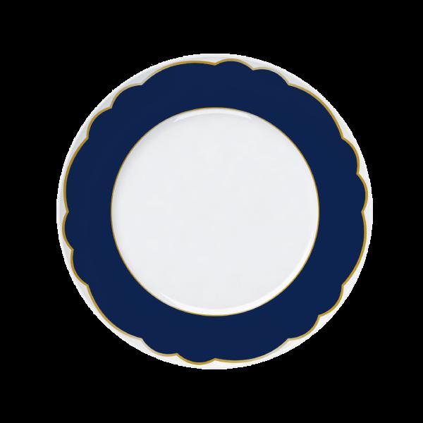 Prato Raso Versa Royal Blue 28cm Germer Porcelanas