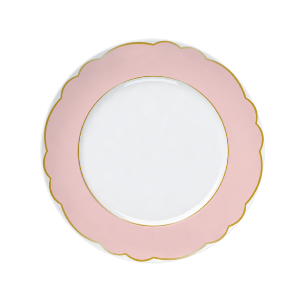 Prato Raso Versa Royal Rose 28cm Germer Porcelanas
