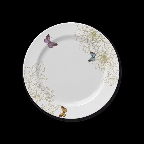 Prato Sobremesa Capri Milão 22cm Germer Porcelanas
