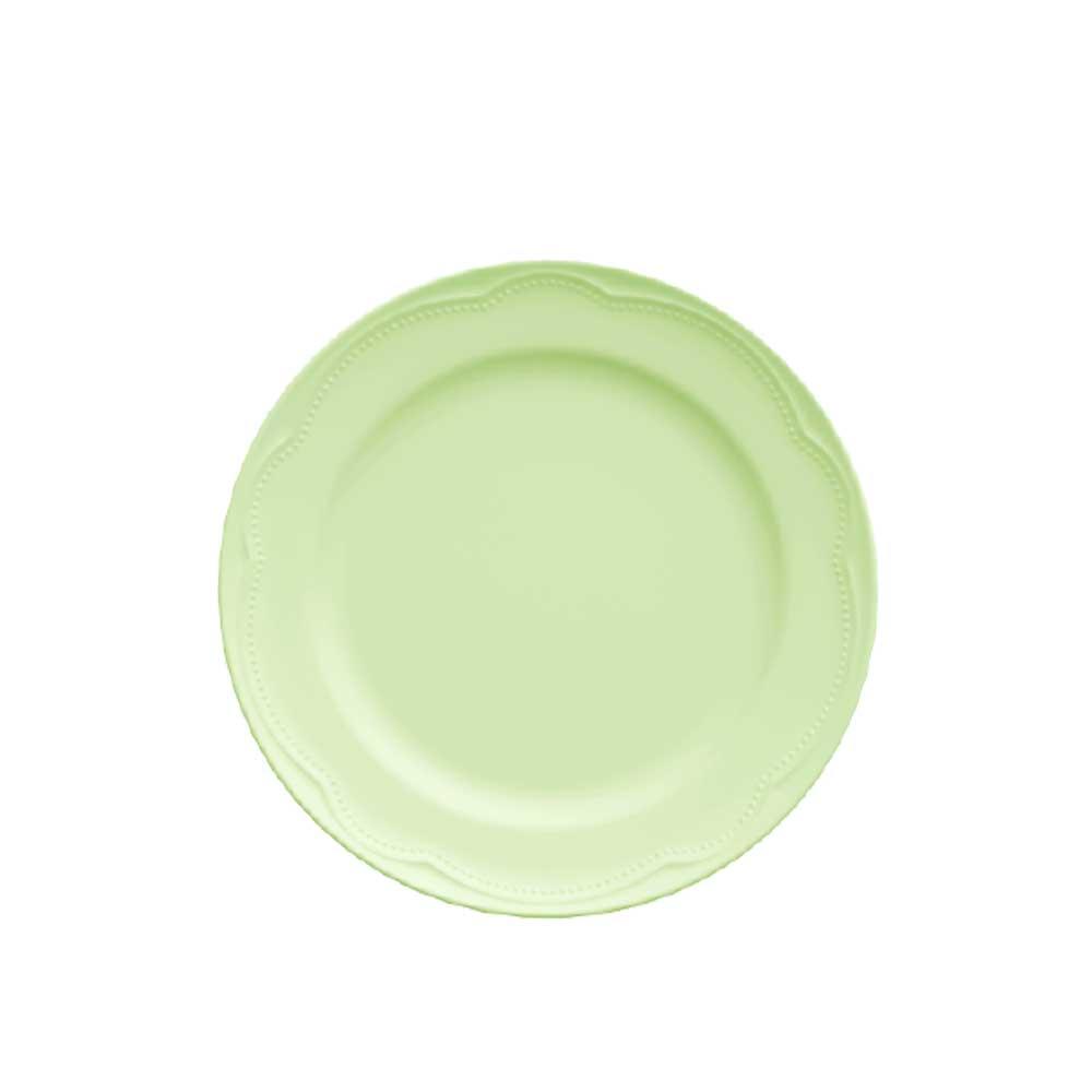 Prato Sobremesa Porcelana Verde Menta Cottage 21cm Germer