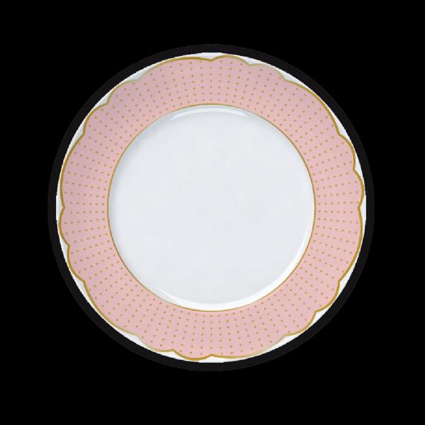 Prato Sobremesa Versa Royal Rose 22cm Germer Porcelanas