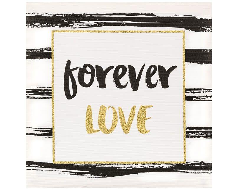 Quadro Decorativo em Canvas Forever Love - Mart