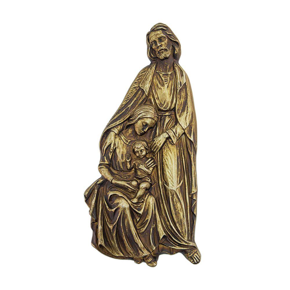 Quadro Decorativo em Poliuretano da Sagrada Família