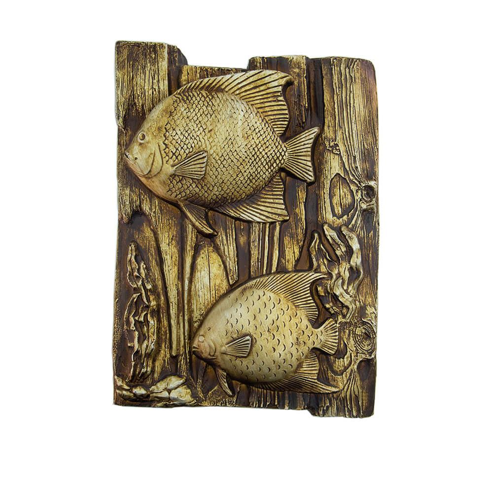 Quadro Decorativo em Poliuretano de Peixes