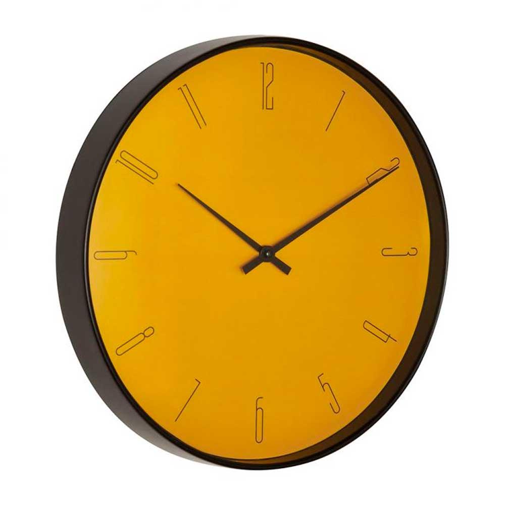 Relógio de Parede Mostarda 35cm