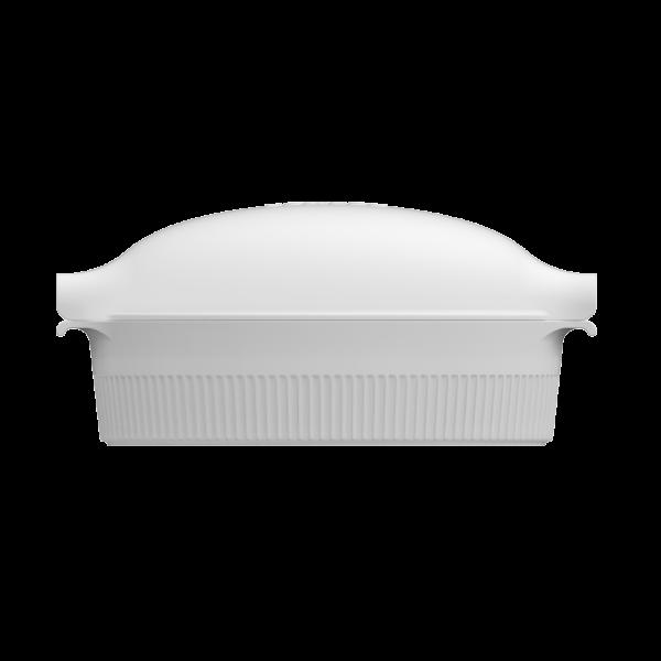 Roaster com Tampa Branco 35cm Germer Porcelanas