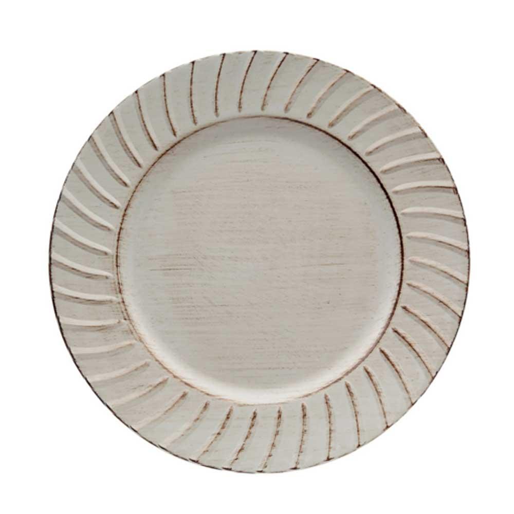 Sousplat Dorico Ivory 33cm