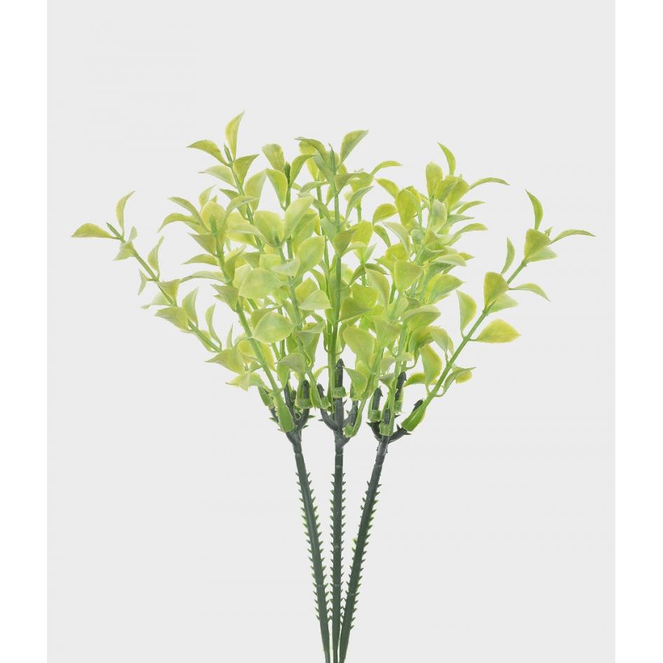 Suculenta Artificial Silvestre X3 Verde