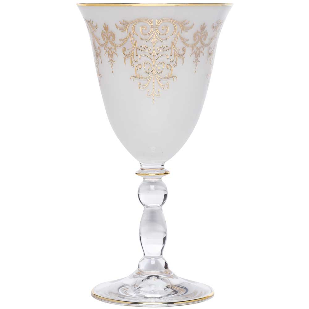 Taça Avulsa para Água Polonesa Ouro 24k - 250ml