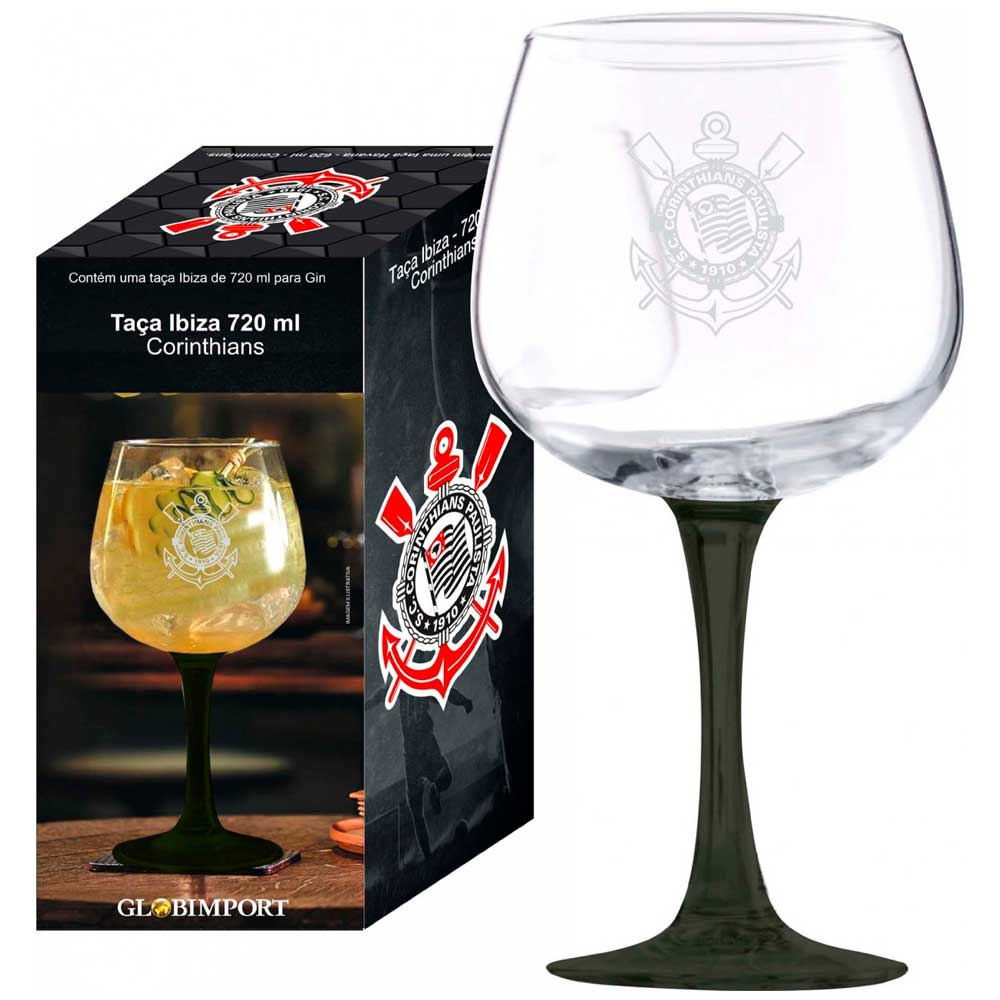 Taça Para Gin Tônica Ibiza 720ml Corinthians
