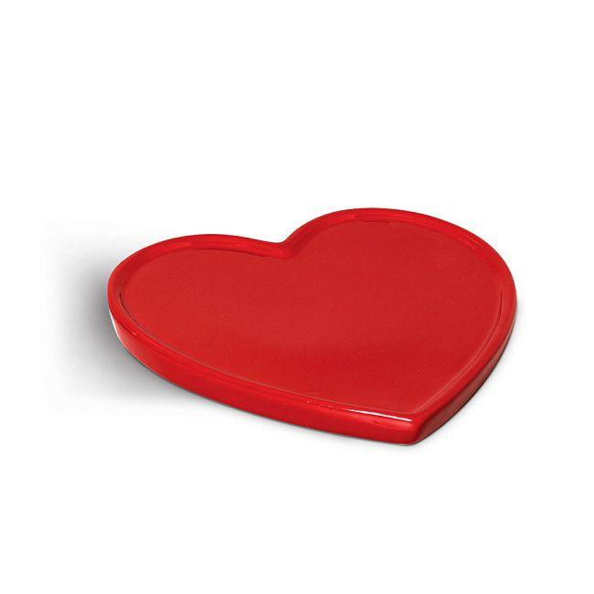 Travessa Cerâmica em Coração