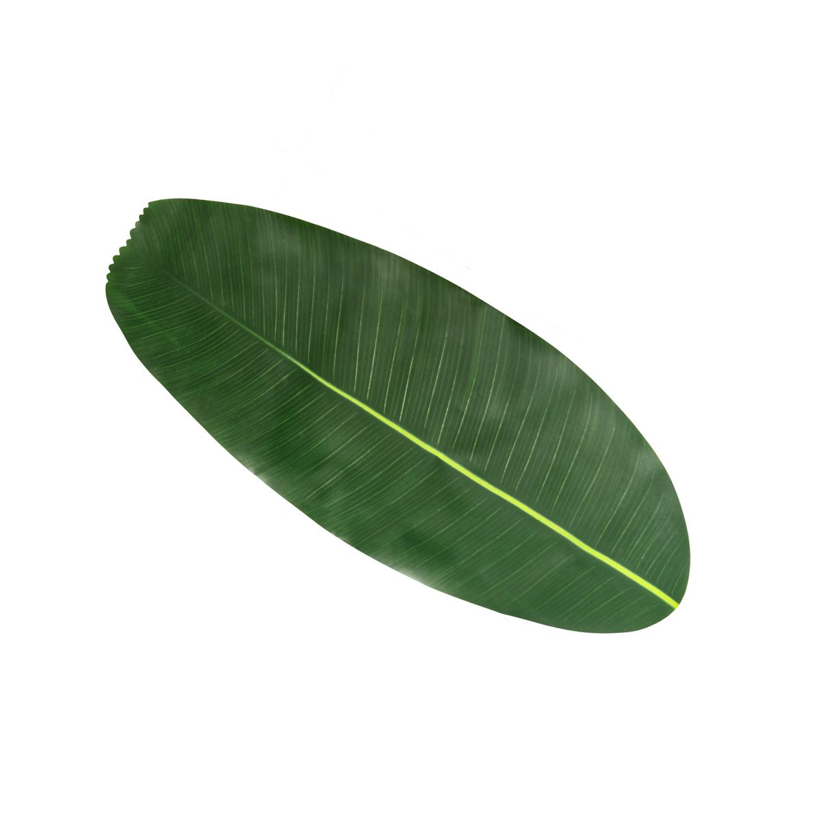Trilho de Plástico Folha de Bananeira 106x46cm