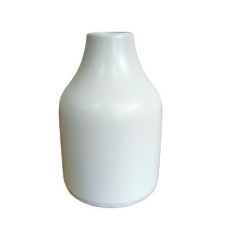 Vaso Bojudo Decorativo Off White em Porcelana